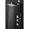 Golden Vantage Temperature Control Tower Shower Panel System