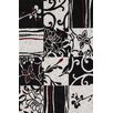 Dalyn Rug Co. Studio Black Patchwork Area Rug