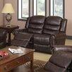 Beverly Fine Furniture Wausau Reclining Loveseat