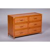 World Wide Hospitality Furniture 6 Drawer Dresser