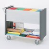Charnstrom Long File Cart with Casters