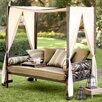 Plow & Hearth Outdoor Chaise Lounge with Cushion