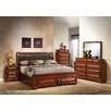 Glory Furniture Storage Sleigh Customizable Bedroom Set
