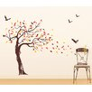 Pop Decors Beautiful Tree and Birds Wall Decal