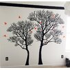 Pop Decors Nature Twin Tree Wall Decal