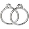 Swing Set Stuff Aluminum Round Trapeze Rings (Set of 2)