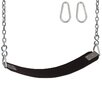 Swing Set Stuff Commercial Rubber Belt Seat with Chain And Hook