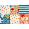 Homefires Floral and Garden Summer Vacation Area Rug