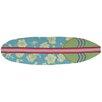 Homefires Surfboard Hawaiian Blue Area Rug