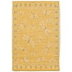 Trans-Ocean Rug Terrace Yellow Dragonfly Indoor/Outdoor Area Rug