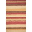 Trans-Ocean Rug Ravella Red Stripe Outdoor Rug