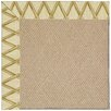 Capel Rugs Zoe Cane Wicker Machine Tufted Bamboo Area Rug