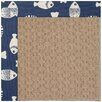 Capel Rugs Zoe Grassy Mountain Machine Tufted Pitch and Beige Area Rug