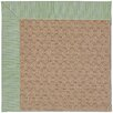 Capel Rugs Zoe Grassy Mountain Machine Tufted Green Spa/Brown Area Rug