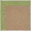 Capel Rugs Zoe Raffia Machine Tufted Green/Brown Area Rug