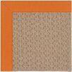 Capel Rugs Zoe Grassy Mountain Machine Tufted Clementine/Brown Area Rug