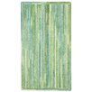 Capel Rugs Waterway Green/White Variegated Area Rug