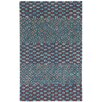 Capel Rugs Charisma Red/Blue Mosaic Area Rug