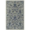 Capel Rugs Garden Farms #3 Hand Tufted Beige/Azure Area Rug