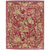 Capel Rugs Garden Farms Red Floral Area Rug