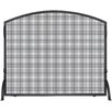 Uniflame Corporation 1 Panel Wrought Iron Arch Top Fireplace Screen