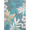 United Weavers of America Modern Texture Sea Garden Blue Area Rug