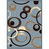 United Weavers of America Dallas Hip Hop Blue Area Rug