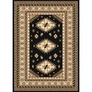 United Weavers of America Dallas Tres Black/Brown Area Rug
