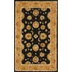 Dynamic Rugs Jewel Black/Camel Rug