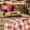 Silverado Home Thoroughbred Foxhunt Neck Cotton Bolster Pillow