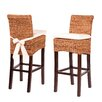 """dCOR design Grass Roots 30"""" Bar Stool with Cushion"""
