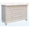 dCOR design Palmetto Bay 5 Drawer Dresser