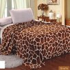 Sweet Home Collection Giraffe Super Soft plush Throw Blanket