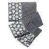 Sweet Home Collection Sinatra Bath 3 Piece Towel Set