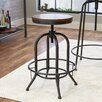 Mercury Row Spiro Adjustable Height Swivel Bar Stool