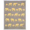 ChappyWrap Elephant Cotton Blend Blanket