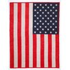 ChappyWrap American Flag Cotton Blend Blanket