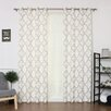 Best Home Fashion, Inc. Oxford Basketweave Curtain Panel (Set of 2)