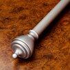 Best Home Fashion, Inc. Windsor Single Curtain Rod and Hardware Set