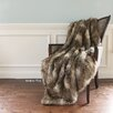 Wild Mannered Faux Fur Lounge Throw