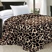 BNF Home Safari Flannel Fleece Blanket