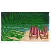 A1 Home Collections LLC Coir Beach Doormat