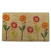 A1 Home Collections LLC Spring Flowers Doormat