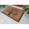 A1 Home Collections LLC Tree Double Doormat