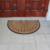 A1 Home Collections LLC Half Moon Double Doormat