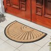 A1 Home Collections LLC Half Round Princess Doormat
