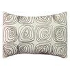 A1 Home Collections LLC Spiral Embroidered Cotton Lumbar Pillow