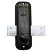 Lockey USA Mechanical Keyless Surface Mount Slide Deadbolt Lock