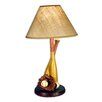 "Judith Edwards Designs Baseball 22"" H Table Lamp with Empire Shade"
