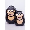 New Image World Cuties and Pals 2 Piece Chimp Luggage Set